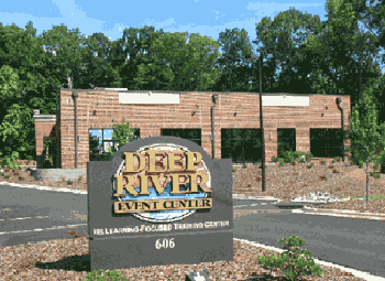 Deep River Event Center Sign